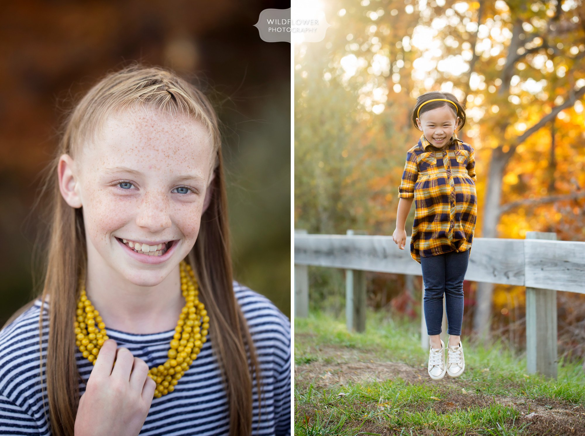 Fun family photographer in Columbia, MO for this October fall session.