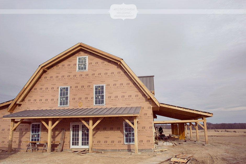 Rustic Outdoor Barn Wedding Venue near Columbia, MO   Blue Bell Farm