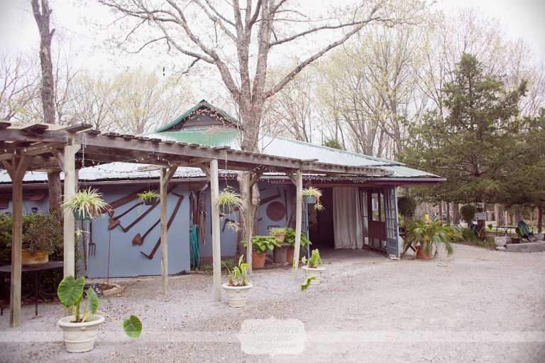 rustic outdoor wedding venue columbia mo alpine park garden