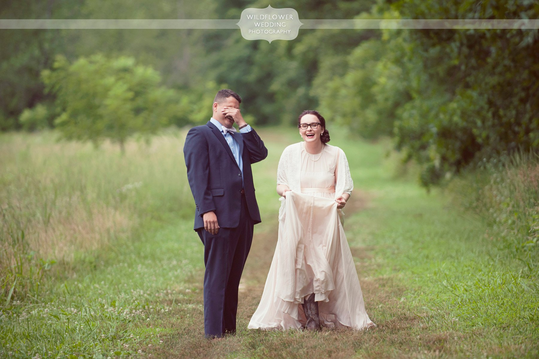 Outdoor wedding photography the roof columbia mo for Wedding photographers columbia mo