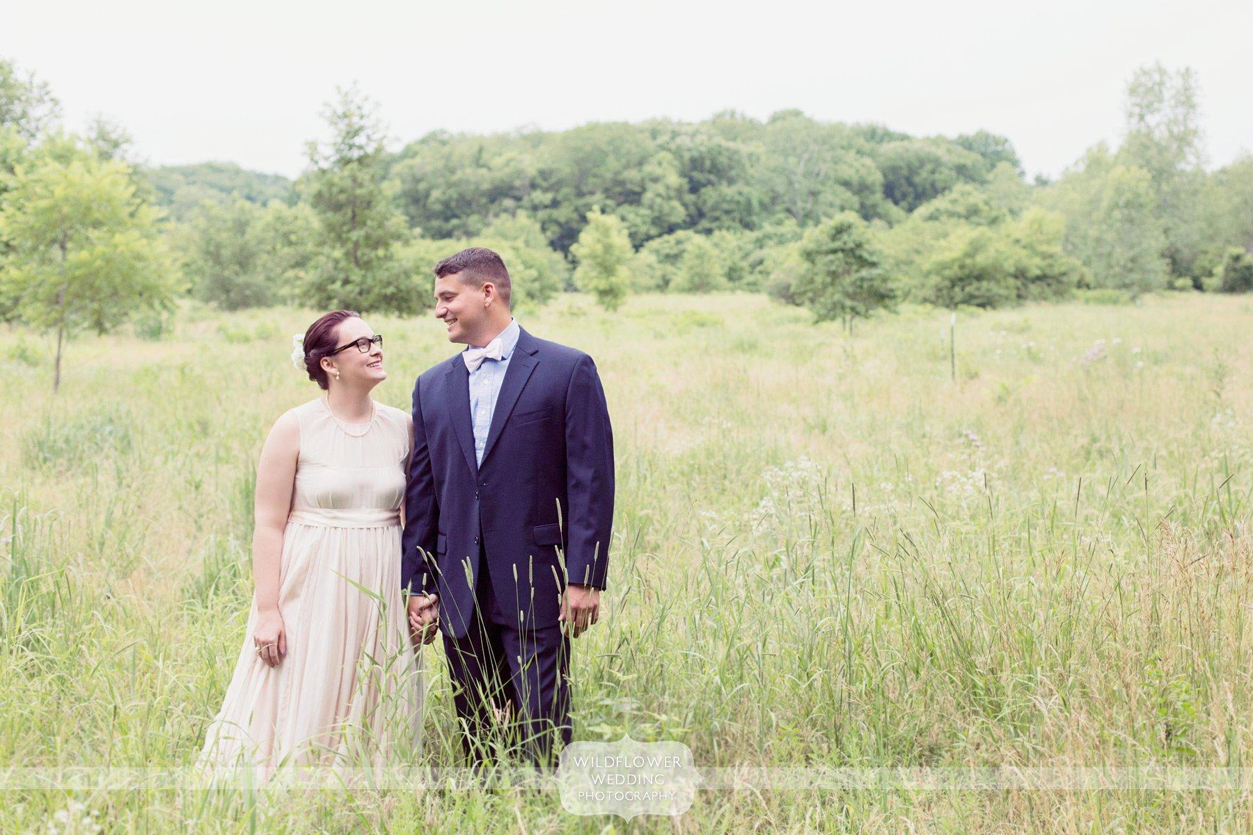 Grindstone Nature Wedding Portraits Columbia Mo