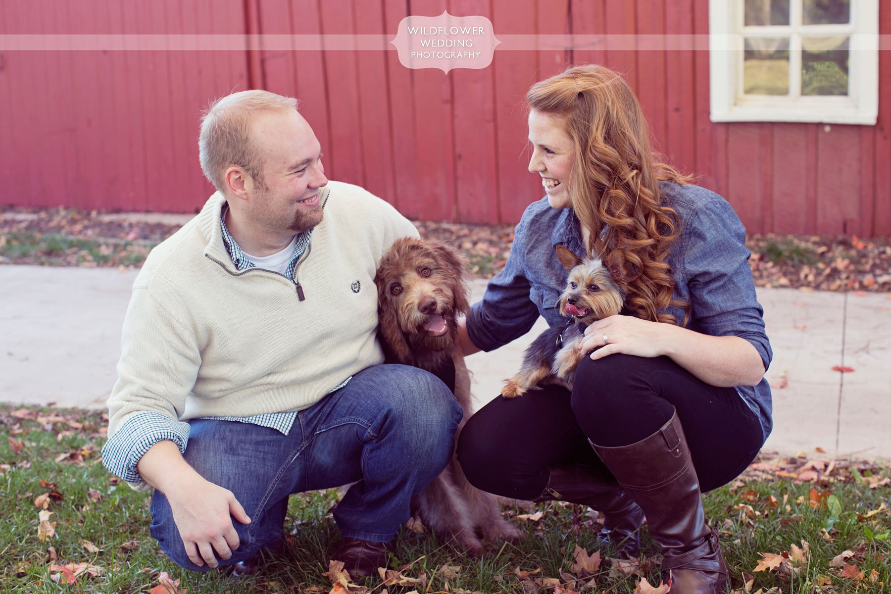 Maplewood Barn Engagement Photography In Columbia Mo