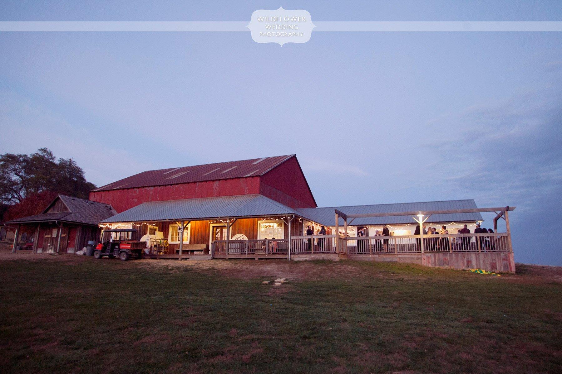 rustic autumn wedding weston red barn farm in kc mo On weston red barn farm wedding