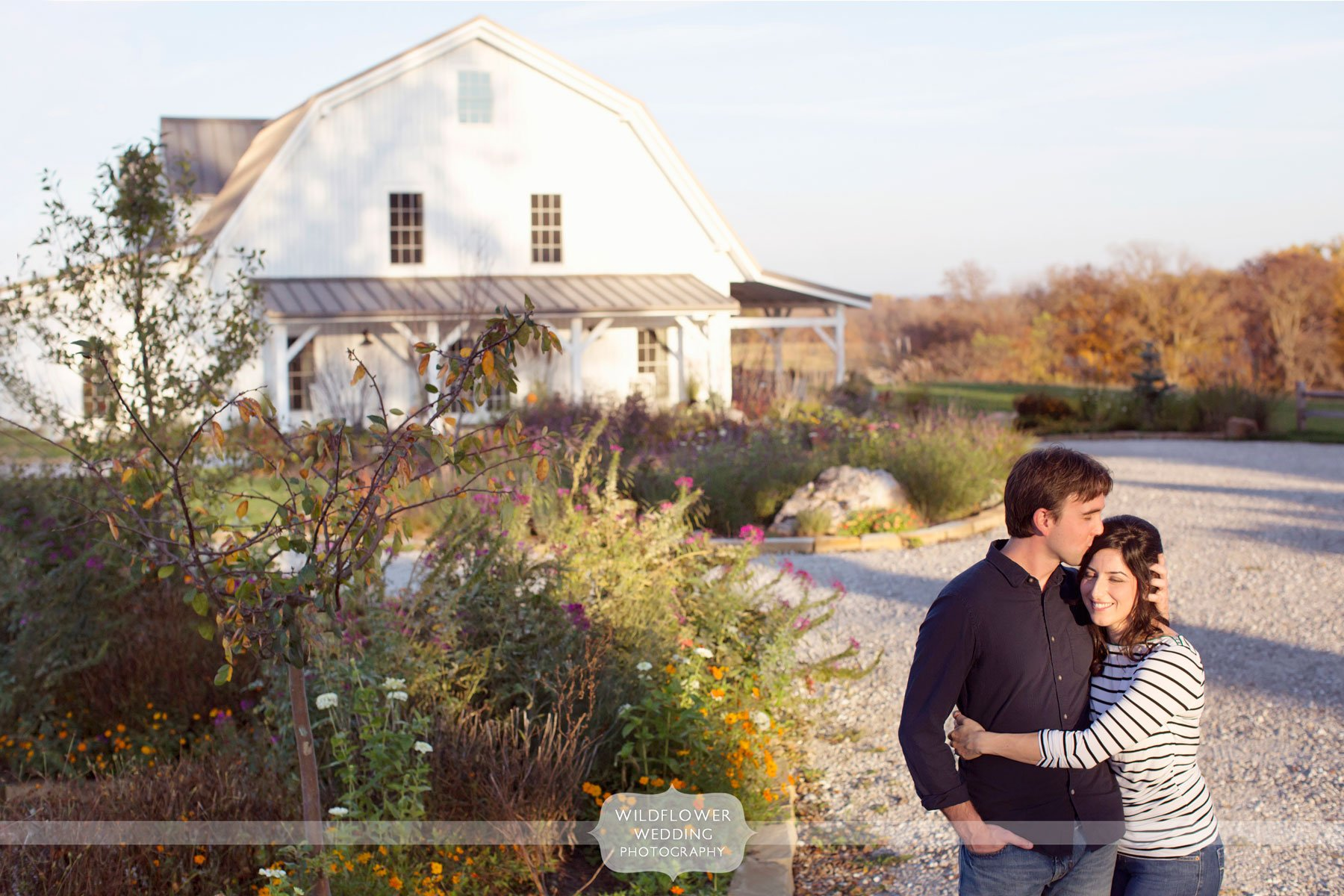 Rustic Barn Engagement Photography Blue Bell