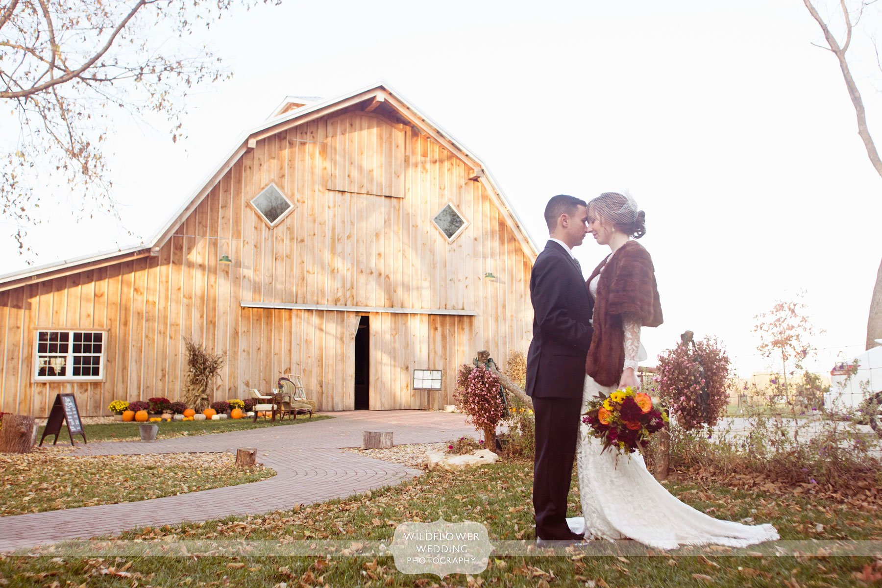 Rustic Anthropologie Wedding Schwinn Produce Farm Barn KS