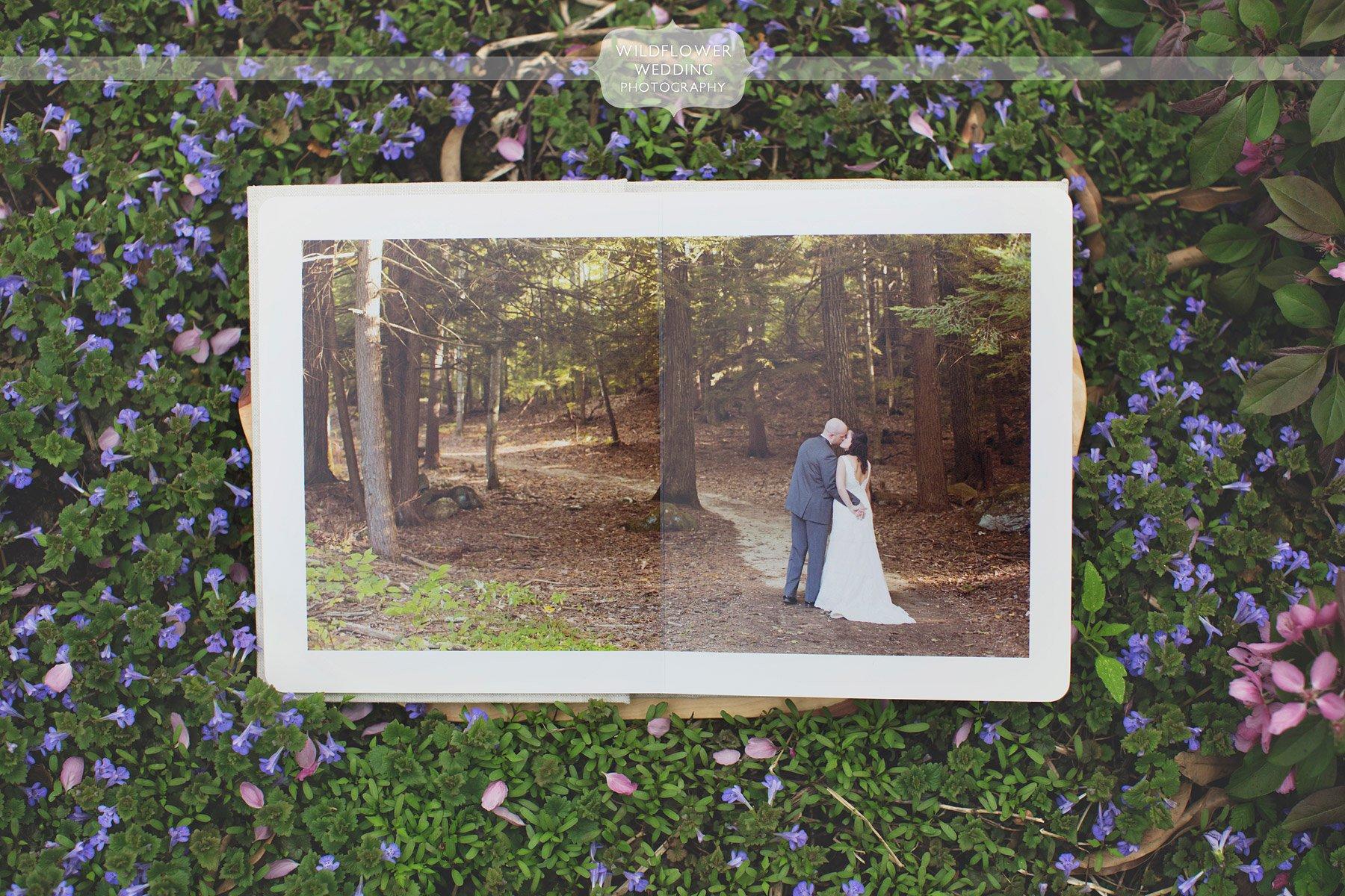 Rustic Natural Wedding Albums Mo 08