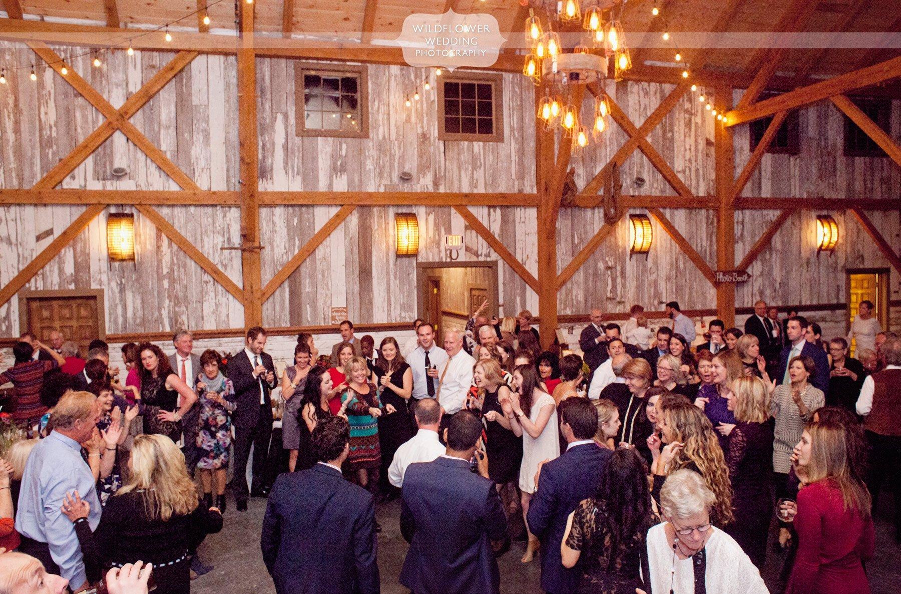 weston red barn farm wedding abby adam wildflower